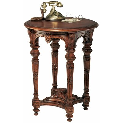 Design Toscano Louis XIV Mahogany End Table