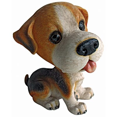 Design Toscano Prized Pup Beagle Puppy Dog Statue
