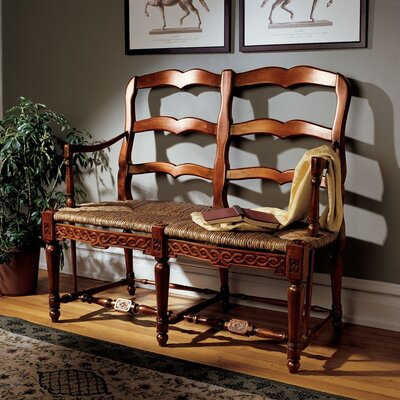 Design Toscano French Provincial Settee Loveseat