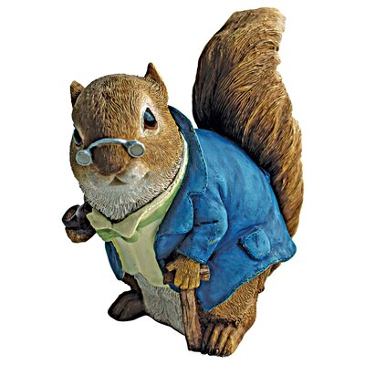 Design Toscano Grandfather Squirrel Statue