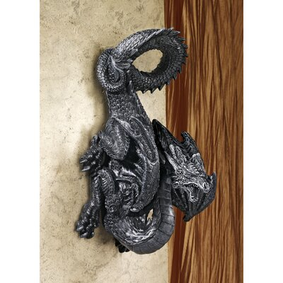 Design Toscano Dragon Perch Wall Sculpture