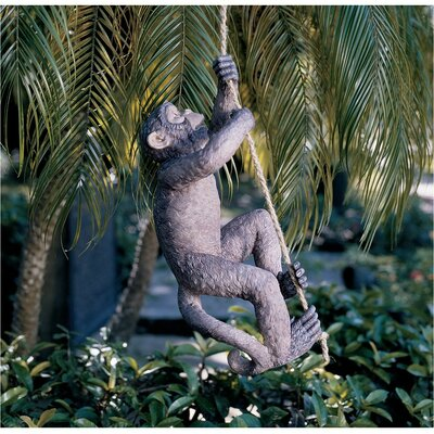 Makokou the Climbing Monkey Statue (Set of 2)