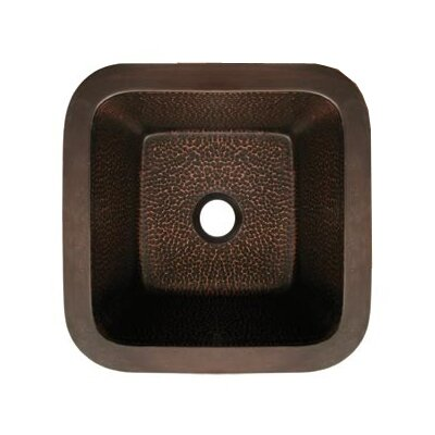 Copperhaus Square Bathroom Sink - WHCOLV1414