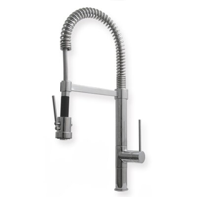 "Whitehaus Collection Metrohaus Commercial 7"" Single Handle Single Hole Bar Faucet with Short Handle"