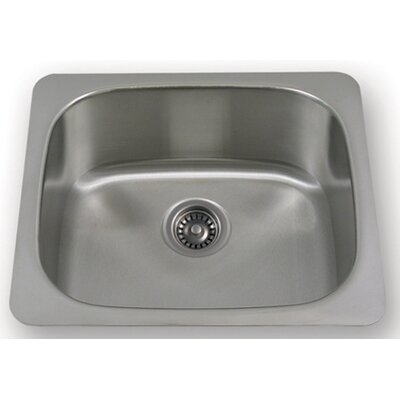"Whitehaus Collection New England 21"" x 17.8"" Undermount Large Semi Square Kitchen Sink"
