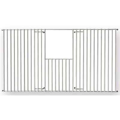 "Whitehaus Collection New England 25"" x 14"" Rectangular Kitchen Sink Grid"