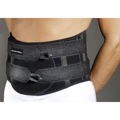 ActivDay Plus Lumbar Sacral Brace in Black