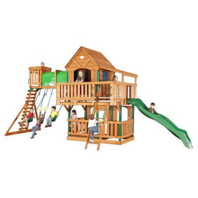 Backyard Discovery Woodridge Cedar Swing Set