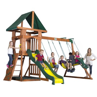 Backyard Discovery Santa Fe Swing Set