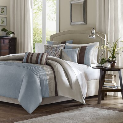 Madison Park Tradewinds 6 Piece Duvet Set in Blue