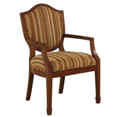 Madison Park Crest Fabric Arm Chair