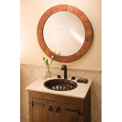 Native Trails, Inc. Calabash Hand Hammered Copper Bathroom Sink
