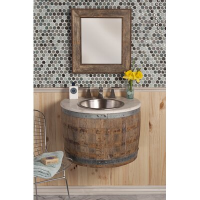 Native Trails, Inc. Vintner's Bordeaux Wall Mount Vanity