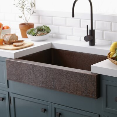 "Native Trails, Inc. Renewal 33"" x 22"" Paragon Kitchen Sink"