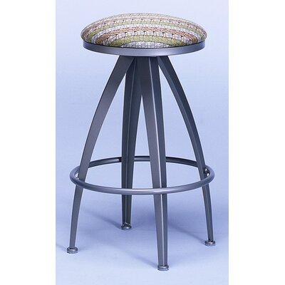 Johnston Casuals Stiletto Contemporary Backless Swivel Barstool
