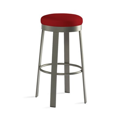 "Johnston Casuals Svinn 30"" Steel Barstool with Fabric Seat"