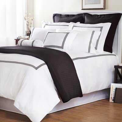 Wildon Home ® Baratto Duvet Collection with Triple Embroidered Stripes