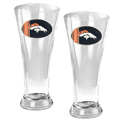 Great American Products NFL 19oz. Pilsner Glass (Set of 2)
