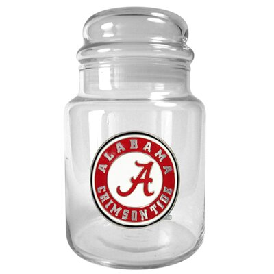 Great American Products NCAA 31 oz. Glass Candy Jar - Primary Logo
