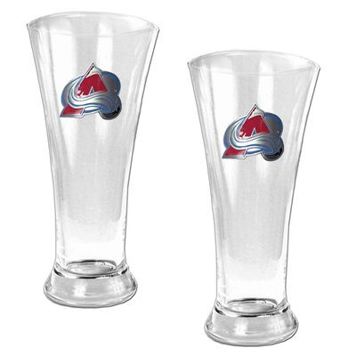 Great American Products NHL 2 Pieces 16oz Pilsner Glass Set