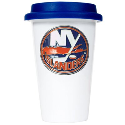 Great American Products NHL 12oz Double Wall Tumbler with Blue Lid
