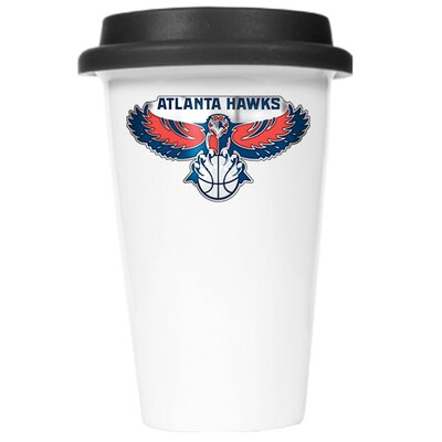 Great American Products NBA 12oz Double Wall Tumbler with Black Lid