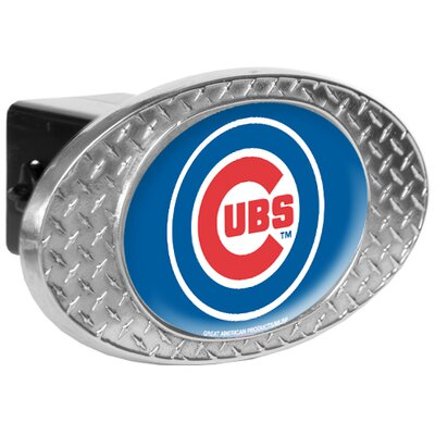 Great American Products MLB Metal Diamond Plate Trailer Hitch Cover