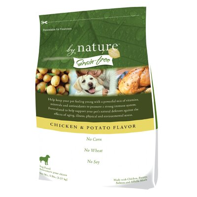 By Nature Grain-Free Chicken and Potato Flavor Dry Dog Food
