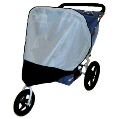 Sasha's Kiddie Products BOB Revolution / Stroller Strides Fitness Double Stroller Sun, Wind and Insect Cover