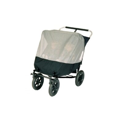 Sasha's Kiddie Products Mountain Buggy Urban Double Jogger Stroller Sun Bug Cover