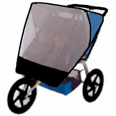 Sasha's Kiddie Products BOB Dualie and Ironman Double Jogger Sun Cover