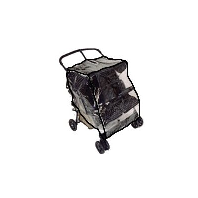 Sasha's Kiddie Products Maclaren Twin Triumph and Twin Techno Double Side by Side Stroller Rain and Wind Cover