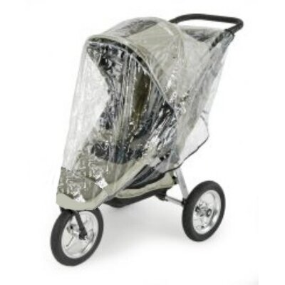 Sasha's Kiddie Products Baby Jogger Summit Single Stroller Rain and Wind Cover