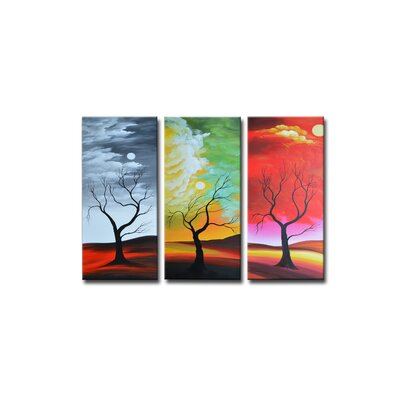 Segma Inc. Radiance Alyxia Canvas Art (Set of 3)
