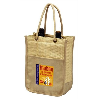 Goodhope Bags Double Bottle Wine Shopping Tote