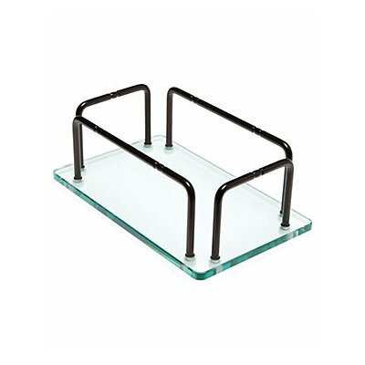 Taymor Industries Inc. Glass Hand Towel Tray with Rails