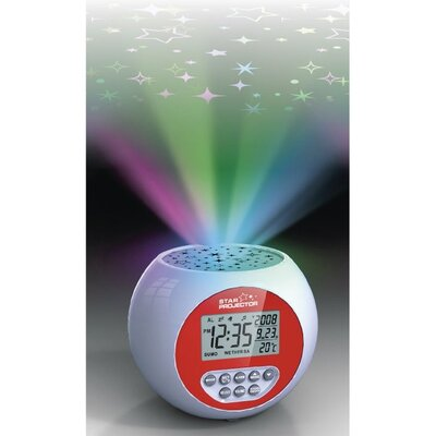 Lifemax Limited Star Projection Clock Relaxation Sound Machine