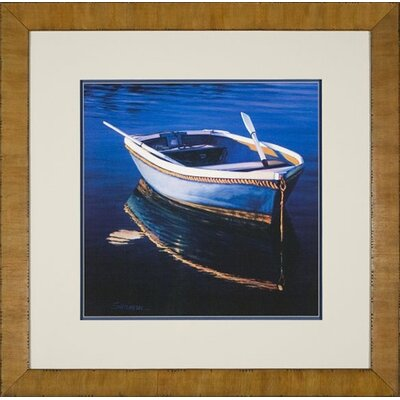 Phoenix Galleries Harbor Glow Framed Print