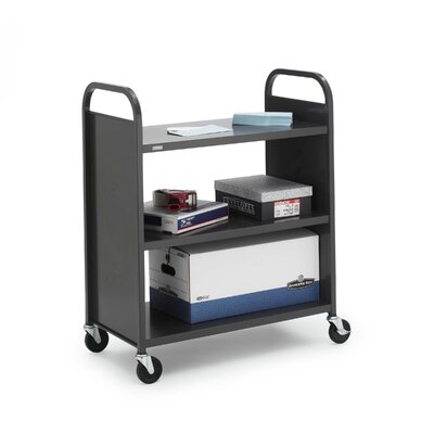 Bretford Manufacturing Inc Metal Flat Shelf Booktruck