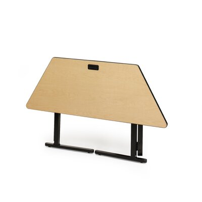 "Bretford Manufacturing Inc KR 56.5"" Trapezoid Training Table"