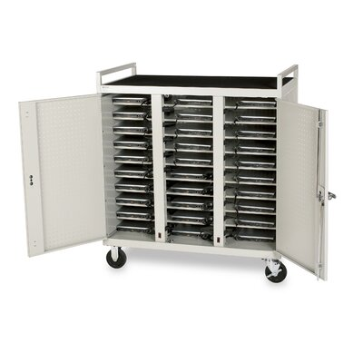 Bretford Manufacturing Inc 30 Laptop Cart with Electrical Assembly