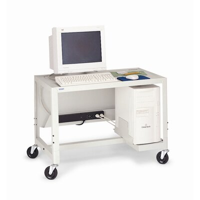 "Bretford Manufacturing Inc 27 - 41"" Adjustable Height Computer Cart"