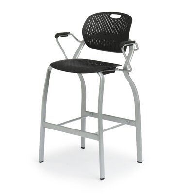 Bretford Manufacturing Inc Explore Arm Stacking Chair with Casters