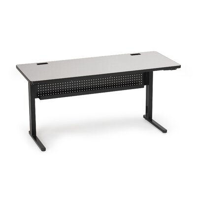 "Bretford Manufacturing Inc KR Rectangular 48"" x 30"" Folding Training Table"