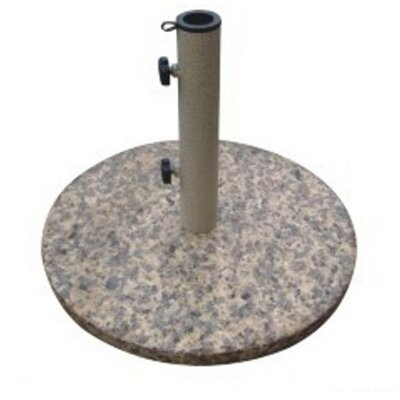 DC America Free Standing Granite Umbrella Base