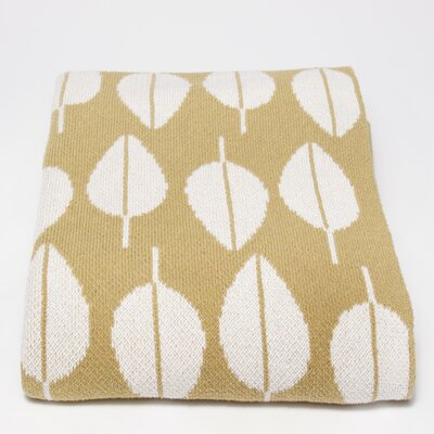 In2Green Tea Leaf Cotton Throw