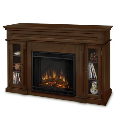 "Real Flame Lannon 51"" TV Stand with Electric Fireplace"