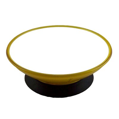 ModaPet Yellow Lemon Zest Pedestal Dog and Cat Bowl