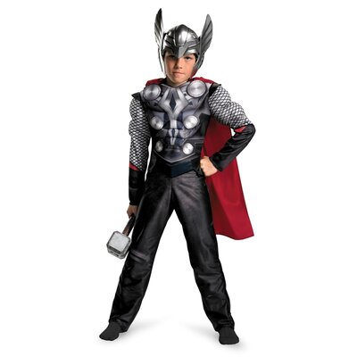 Disguise Costumes Thor Movie Classic Muscle Costume