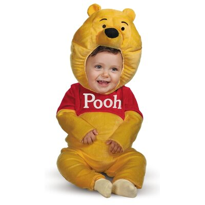 Disguise Costumes Winnie The Pooh Plush Classic Costume